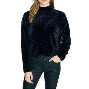 NWT SANCTUARY CHENILLE  MOCK NECK SWEATER SZ SM
